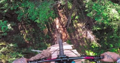 Check Out This Vancouver Mountain Biker's Near Freefall From A Tree